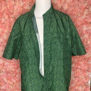 Duluth Trading Company Green Short Sleeve Large